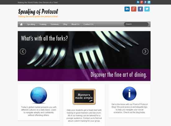 speaking of protocol website